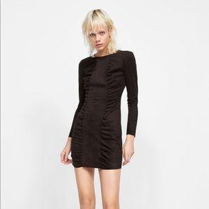 Zara Suede Dress - NWT